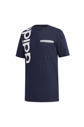 adidas M NEW A T Lacivert Erkek T-Shirt 101069149