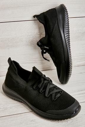 Bambi Siyah Kadın Sneaker L0816046882