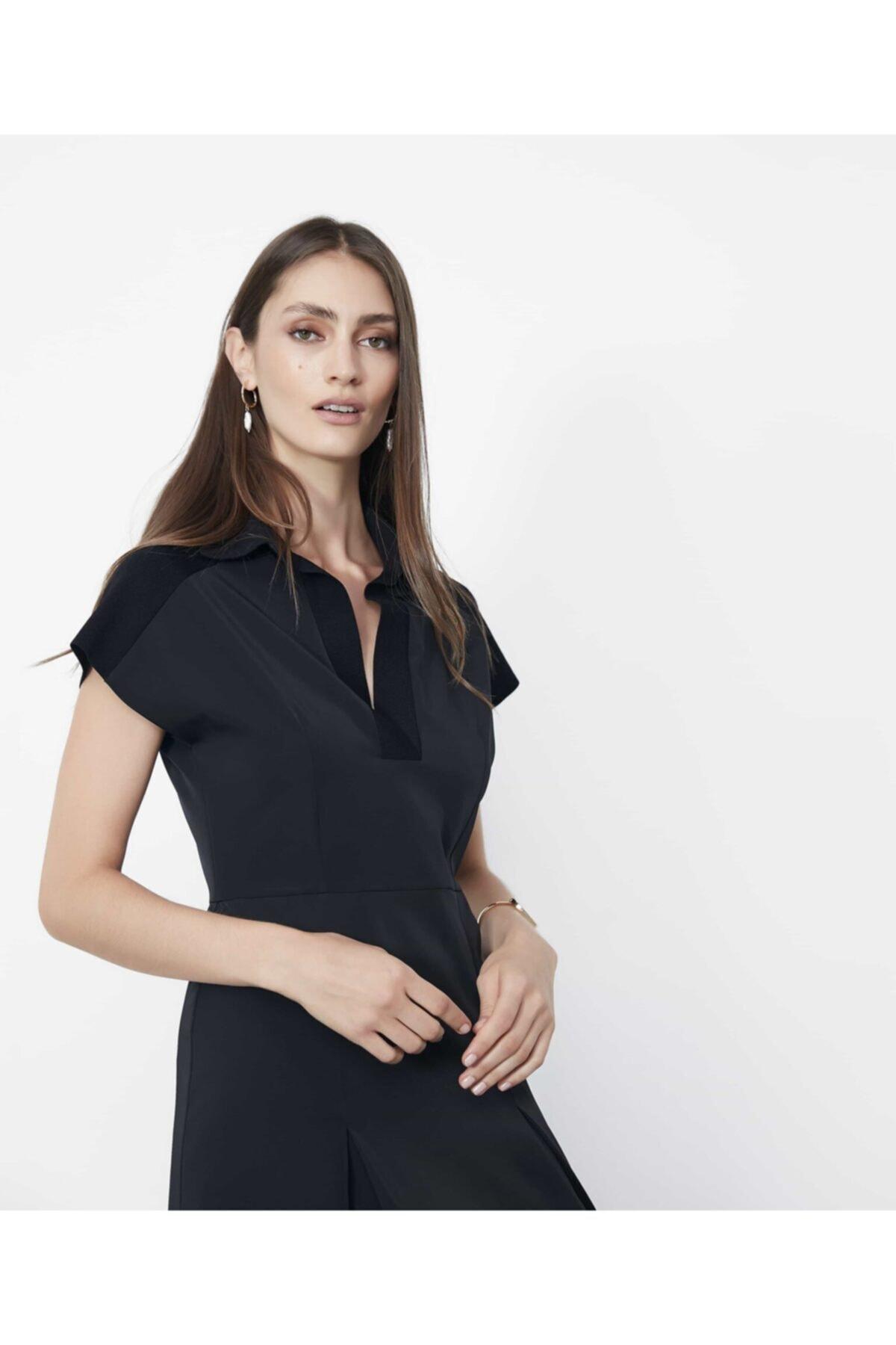 İpekyol Triko Mixli Elbise 2