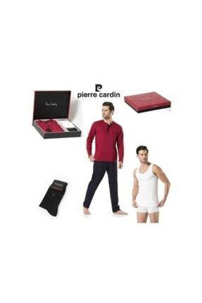 Pierre Cardin Erkek Damat Pijama Takımı Çeyiz Seti