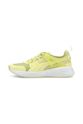 Puma NUAGE RUN CAGE SUMMER2 Sarı Kadın Sneaker Ayakkabı 100532357