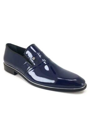 Libero 2141 Klasik Erkek Ayakkabı-lacivert Rugan