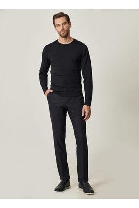 ALTINYILDIZ CLASSICS Erkek Lacivert Slim Fit Dar Kesim Beli Lastikli Yan Cep Kışlık Klasik Pantolon