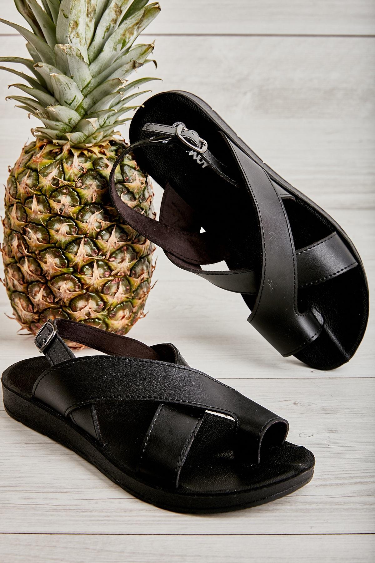 Bambi Siyah Kadın Sandalet L06421111 1