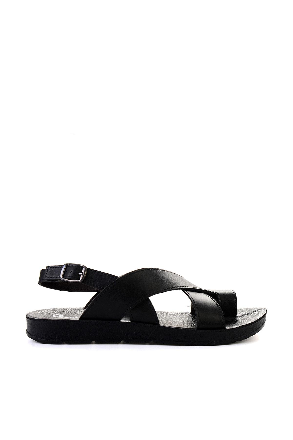 Bambi Siyah Kadın Sandalet L06421111 2