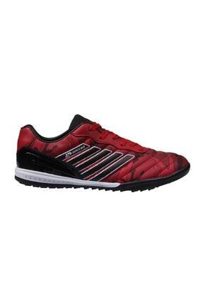 MP Unısex Bağcıklı Kırmızı Halı Saha Ayakkabı