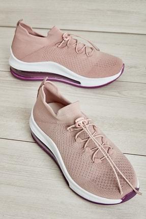 Bambi Mor Kadın Sneaker L08161710