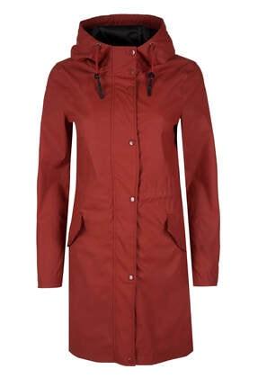 Vero Moda Kadın Kiremit Yağmurluk 10199174
