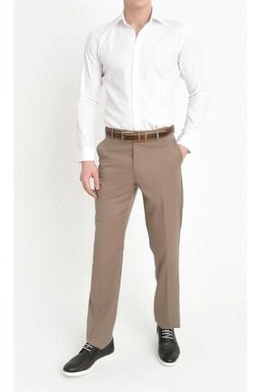 Efor P 842 Slim Fit Bej Klasik Pantolon