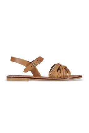 MP Kadın Taba Sandalet Ayakkabı