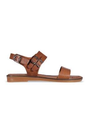 MP Kadın Kahve Sandalet Ayakkabı