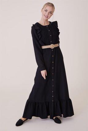 Loreen Elbise-siyah 22139-01