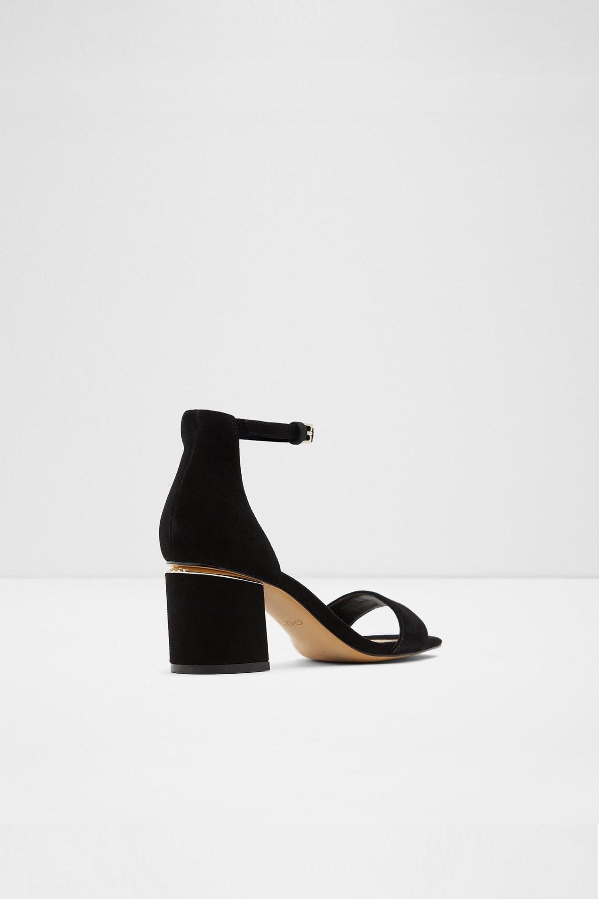 Aldo Valentına - Siyah Orta Topuklu Sandalet 2