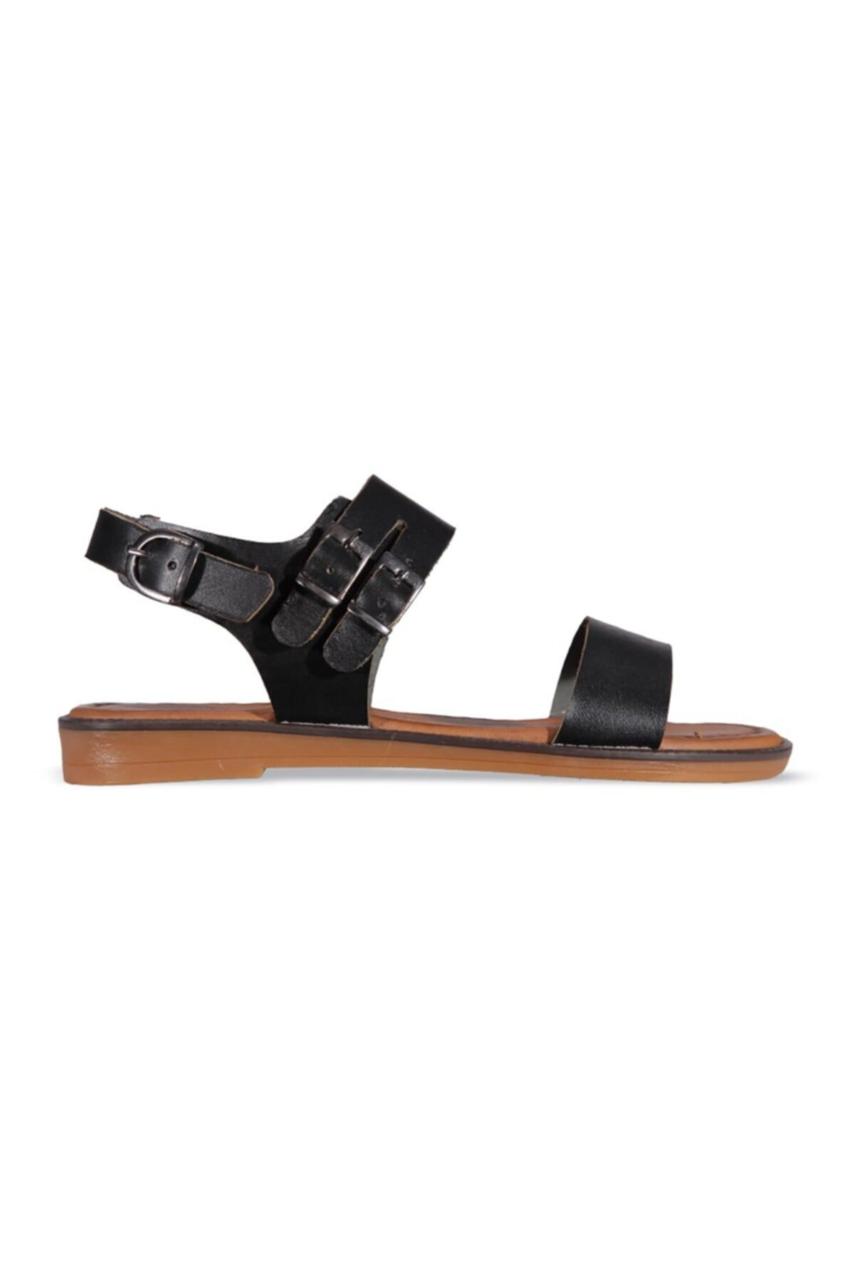MP Kadın Siyah Sandalet Ayakkabı 1