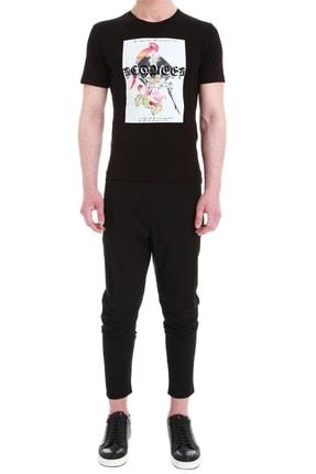 Efor Atp 08 Slim Fit Siyah Spor Pantolon