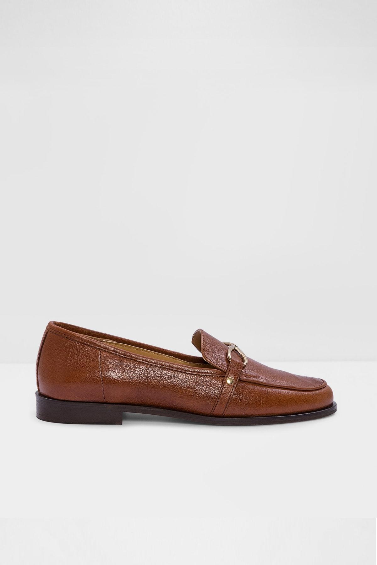 Aldo Afaucıa-tr - Taba Kadın Loafer Ayakkabı 1