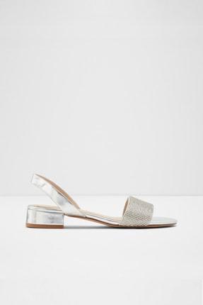 Aldo Candıce - Gümüş Taşlı Kadın Sandalet