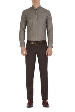 Efor P 1054 Slim Fit Bordo Klasik Pantolon
