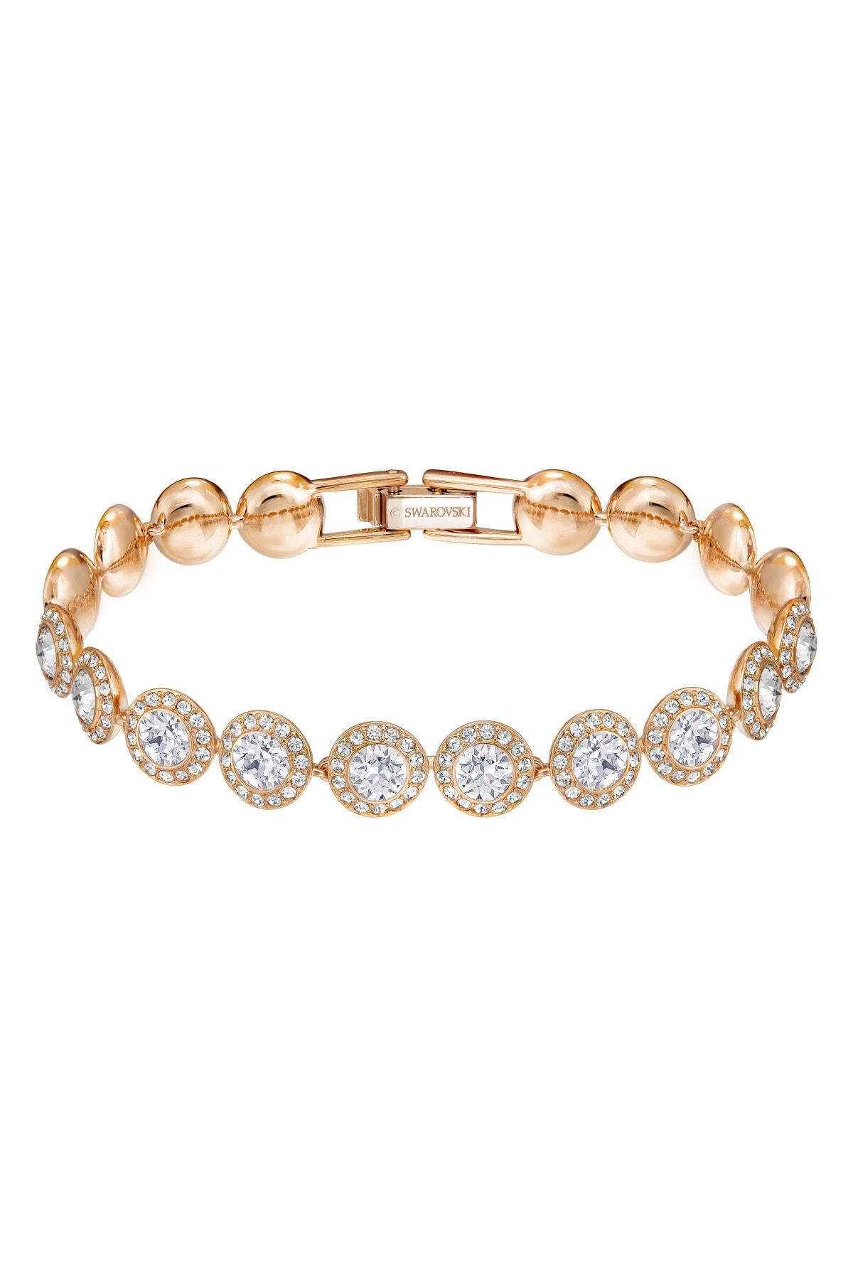 Swarovski Bilezik Angelic:bracelet Cry/ros M 5240513 1