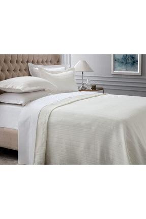 Madame Coco Drury Çift Kişilik Yatak Örtüsü - Beyaz