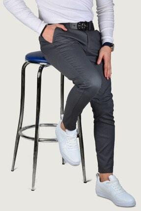 Terapi Men Erkek Keten Pantolon 9y-2200189-020 Füme