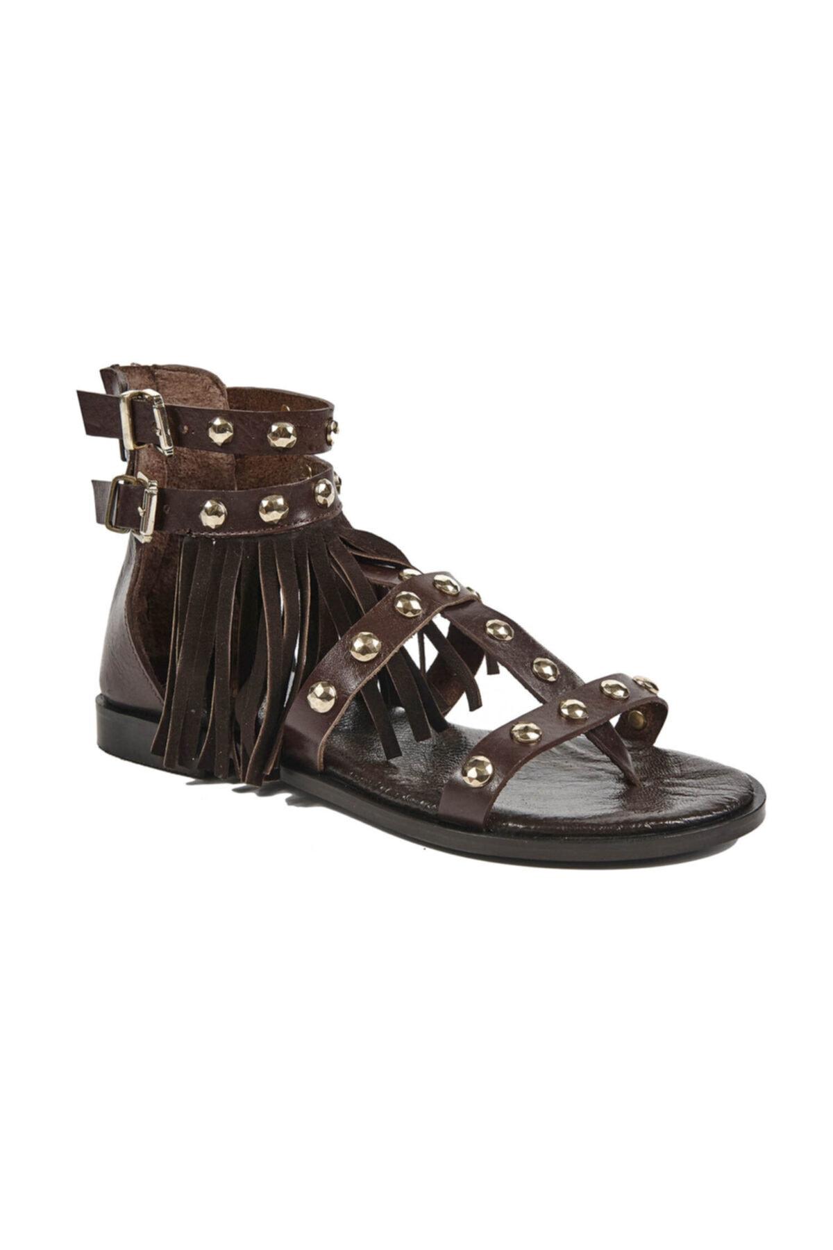 Desa Kirby Kadın Deri Sandalet 2