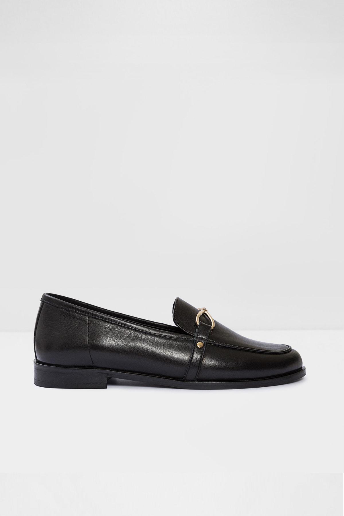 Aldo Afaucıa-tr - Siyah Kadın Loafer Ayakkabı 1