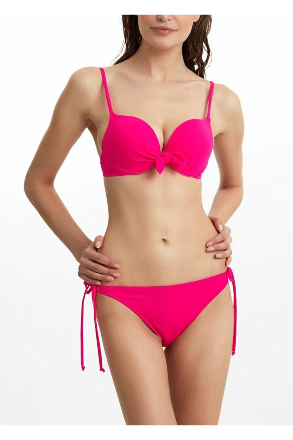 SUWEN Ince Bağcıklı Bikini Alt 1