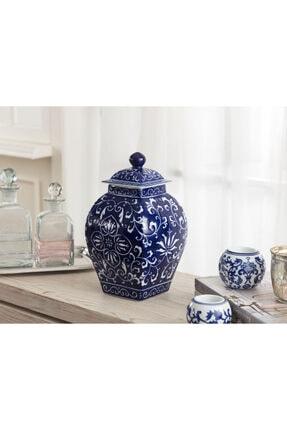 Madame Coco Dijon Bleu Blanc Dekoratif Obje