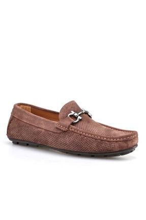 Cabani Makosen Günlük Erkek Ayakkabı Taba Süet