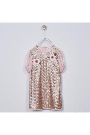Panço Kız Çocuk Parti Elbisesi 2011gk26005