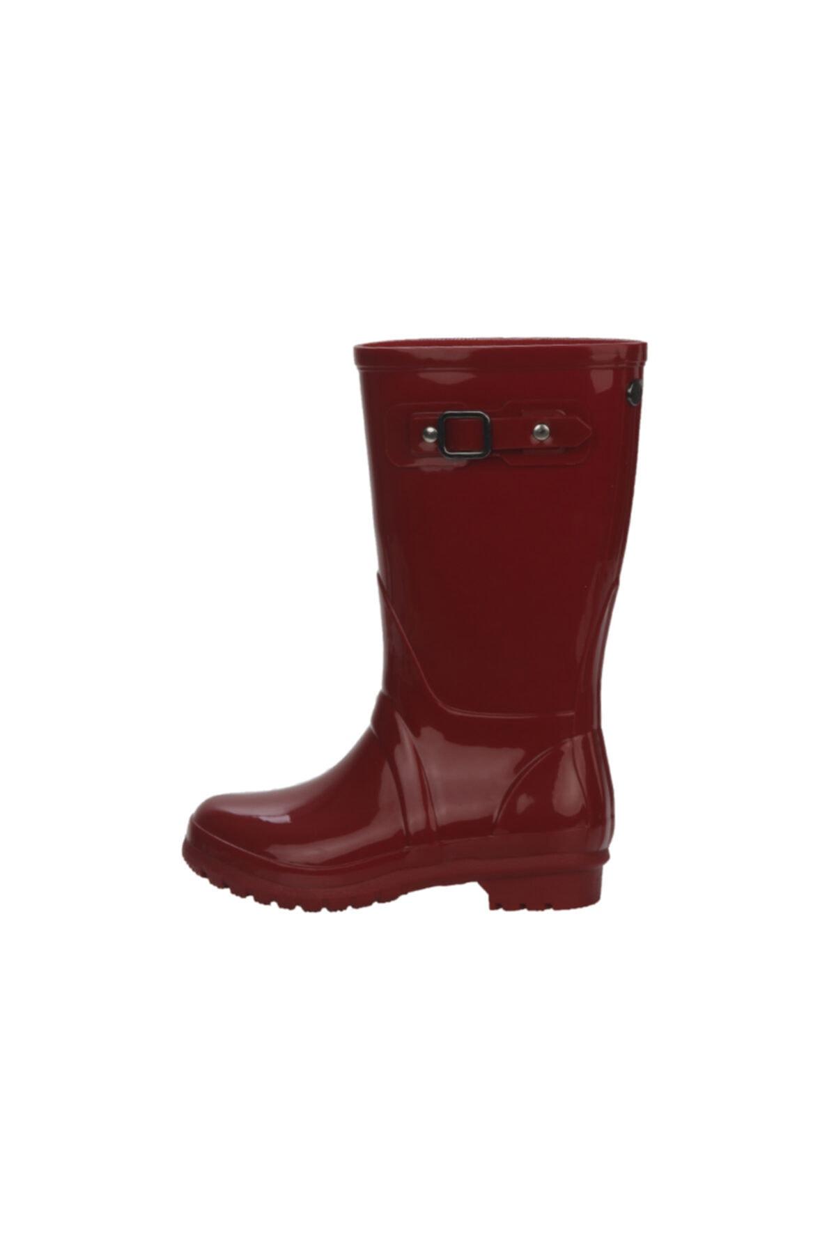 IGOR Kadın Kırmızı Uzun Yağmur Çizmesi 1