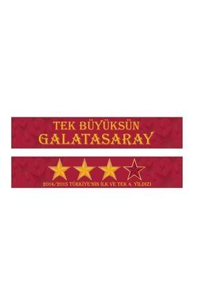 Galatasaray Galatasaray Tek Büyük Şal Atkı