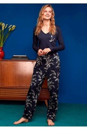 Penyemood Penye Mood 8614 Pijama Takımı - - Lacivert - M