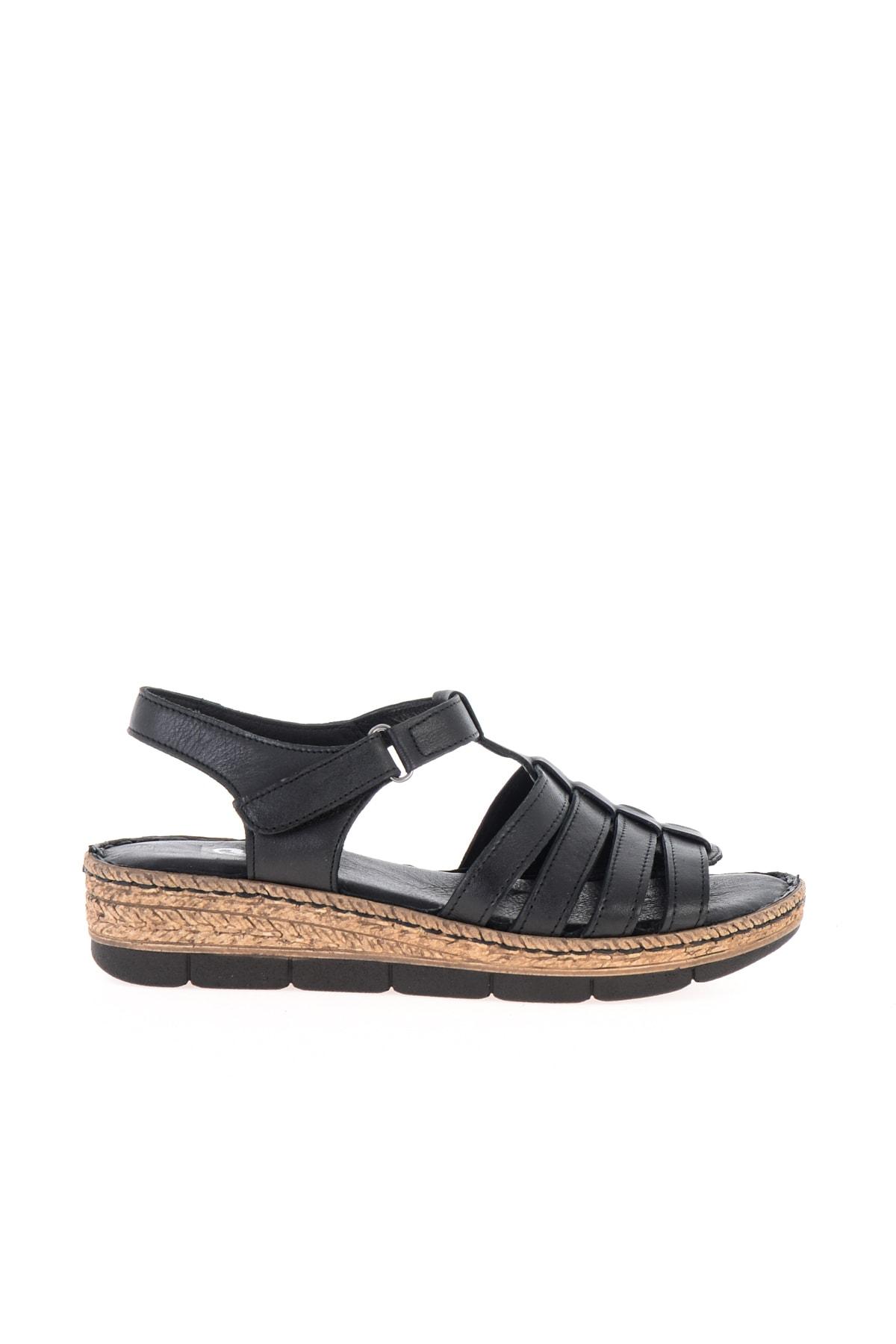 Bambi Sıyah Kadın Sandalet L0586107003 2