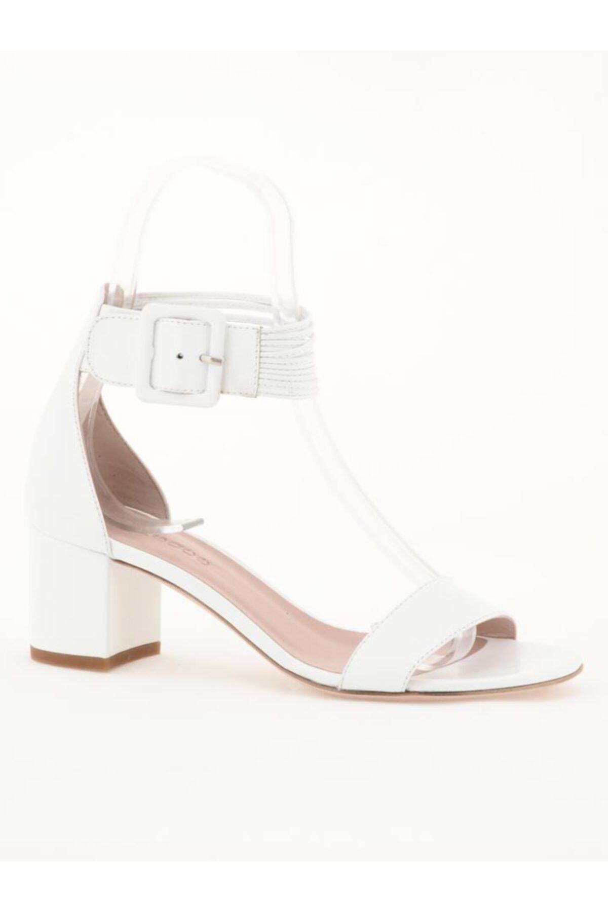 Nursace Hakiki Deri Klasik Topuklu Ayakkabı Nsc19y-a51044 Analın 1