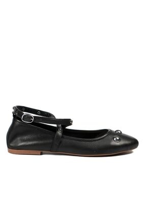 Hammer Jack Siyah Kadın Ayakkabı 195 6023-z