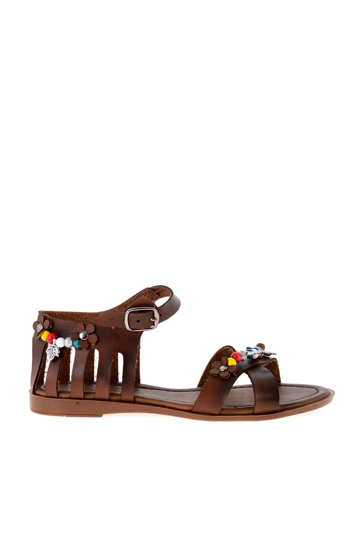 Bambi Kahve Kadın Sandalet L0529019509 2