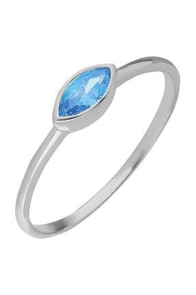 Chavin Gümüş Taşlı Kadın Yüzük Mini Eklem Yüzüğü Ed77by