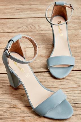 Bambi Kot Mavi Kadın Açık Ayakkabı L0503741071