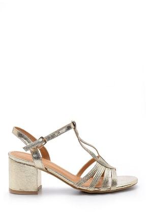 Derimod Kadın Metalik Topuklu Sandalet