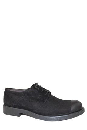 Derigo Siyah Süet Erkek Klasik Ayakkabı 17109