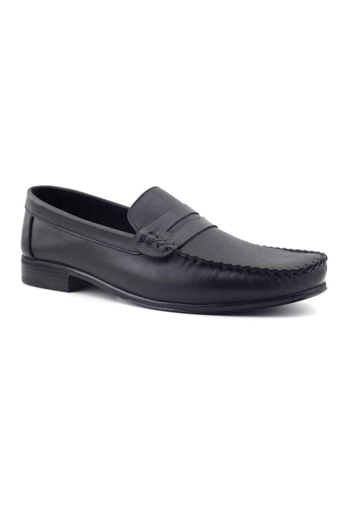 Kayra Catchers 2020 Hakiki Deri Erkek Ayakkabı-siyah 2