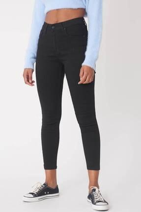 Addax Kadın Siyah Yüksek Bel Pantolon Pn5400 - H8H10 Adx-0000013883