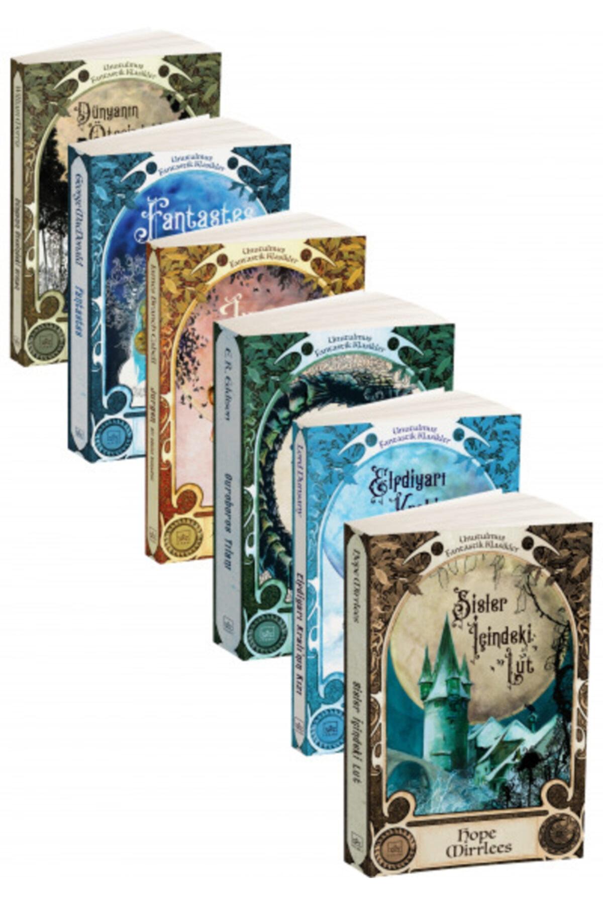 İthaki Yayınları Unutulmuş Fantastikler 6 Kitap Takım 1