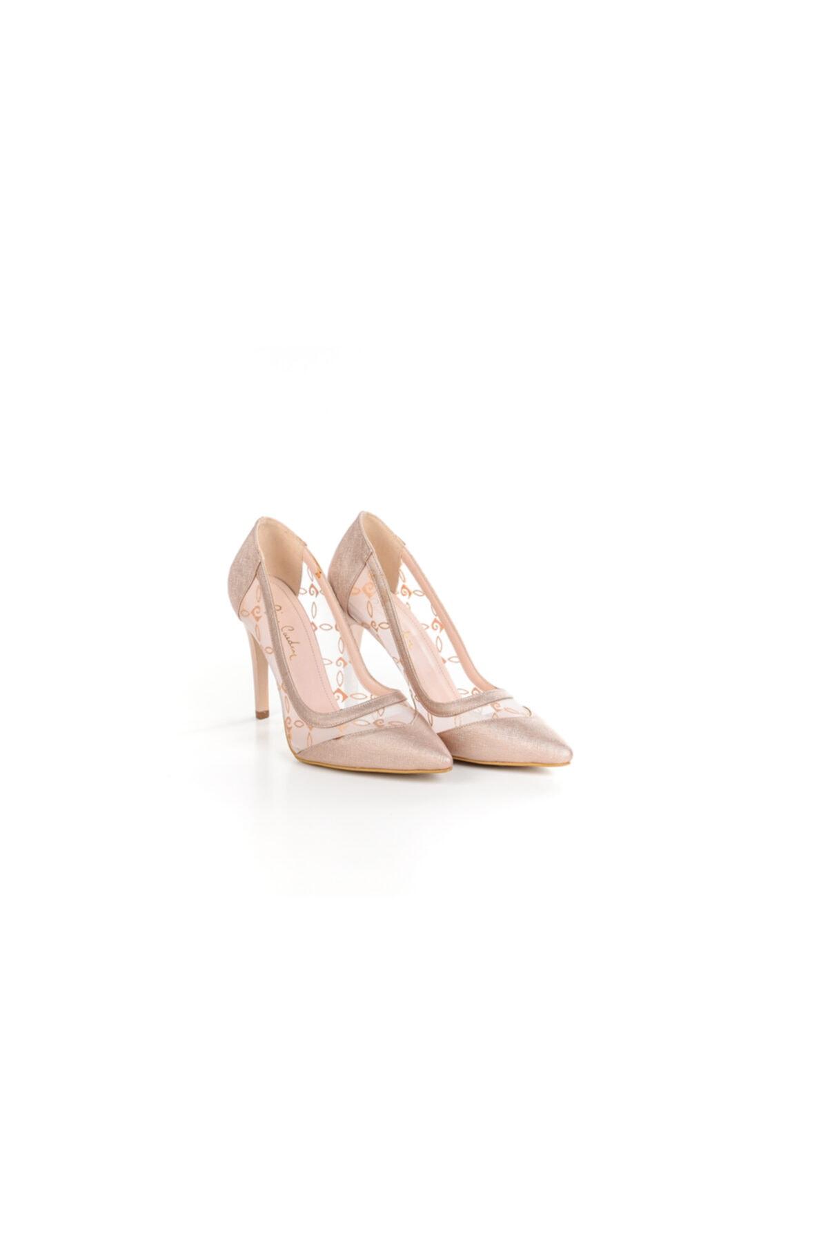 Pierre Cardin Kadın Transparan Stiletto Ayakkabı 1