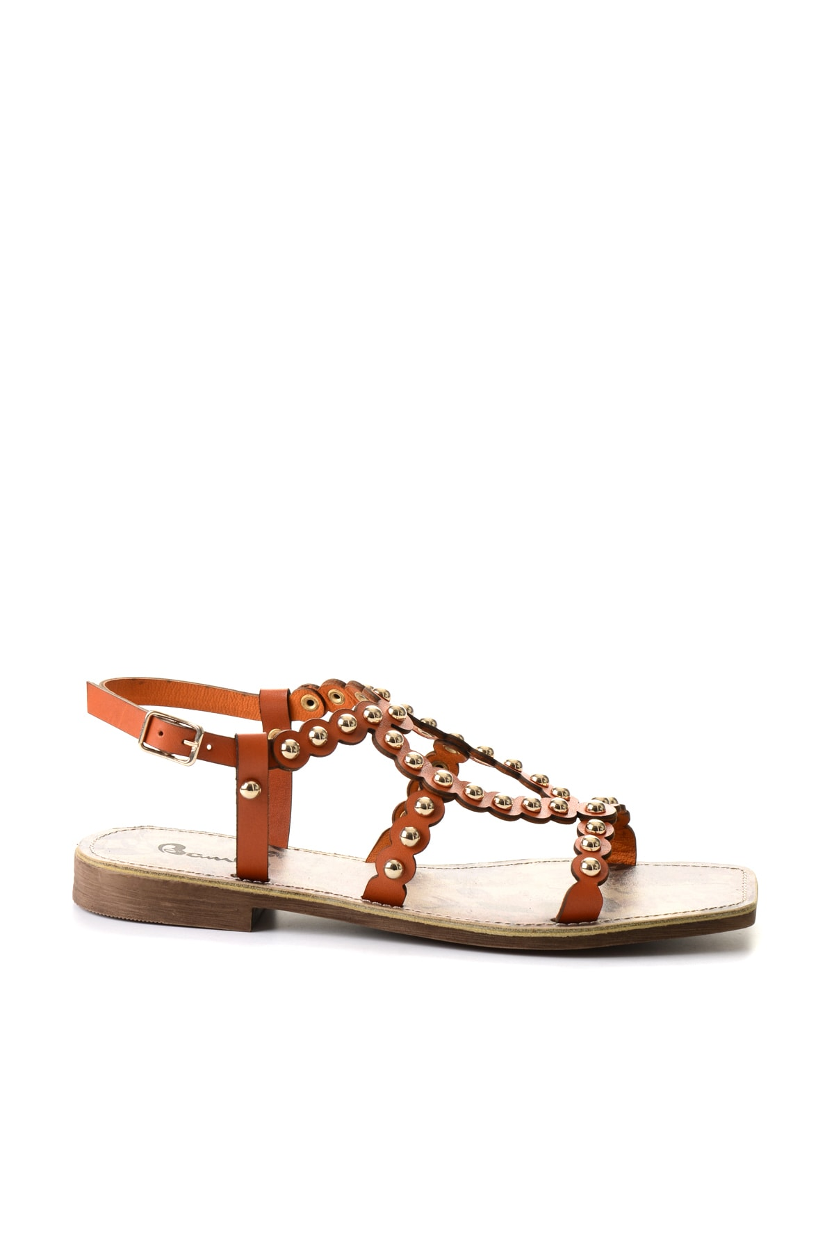 Bambi Turuncu Kadın Sandalet 2