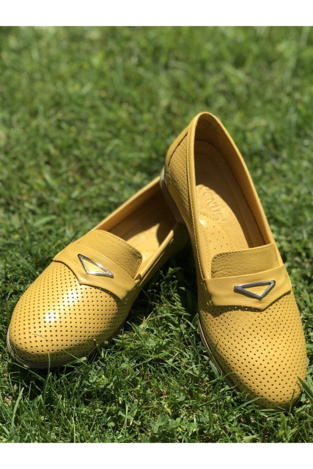 Venüs 1910266y Ayakkabı Sarı 1