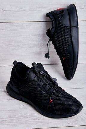 Bambi Siyah Erkek Sneaker L1501016622