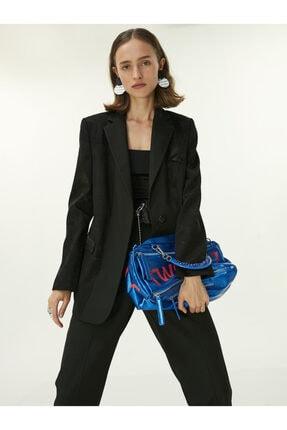 Twist Kumaş Mixli Blazer Ceket